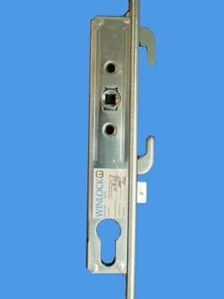 Winlock Hi-Security Patio Door Lock 6 Hook Stainless Steel