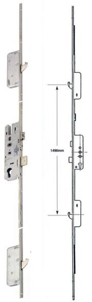 Roto Multipoint, 2 Hooks, Multipoint UPVC Door Lock