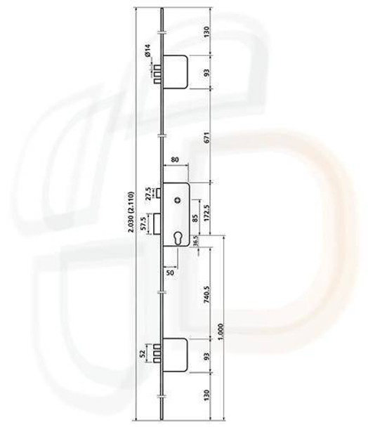 Ucem Multipoint, 6 Pins