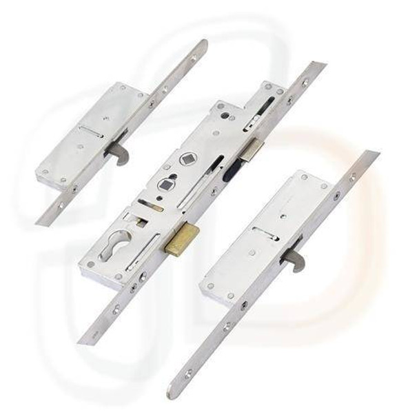 Fullex Crimebeater Multipoint 2 Hooks, 45mm Backset, Flat 20mm ROUND END Faceplate