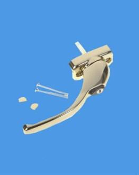Tilt, Lock and Turn Handle in Hardex Gold - Sensei Style