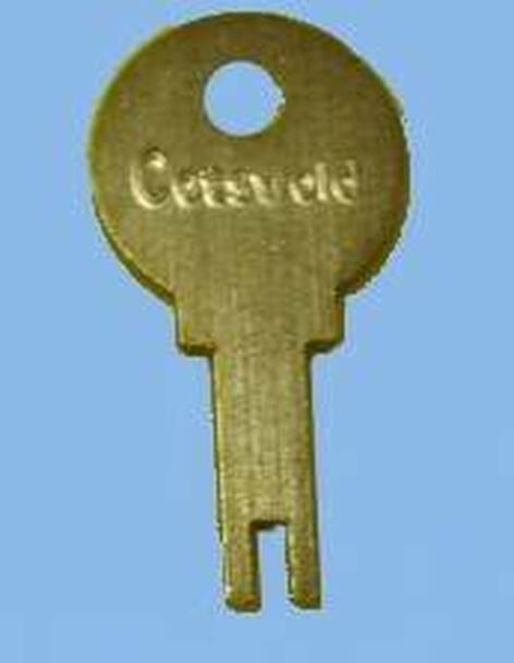 Cotswold 1 Window Handle Key - EE16