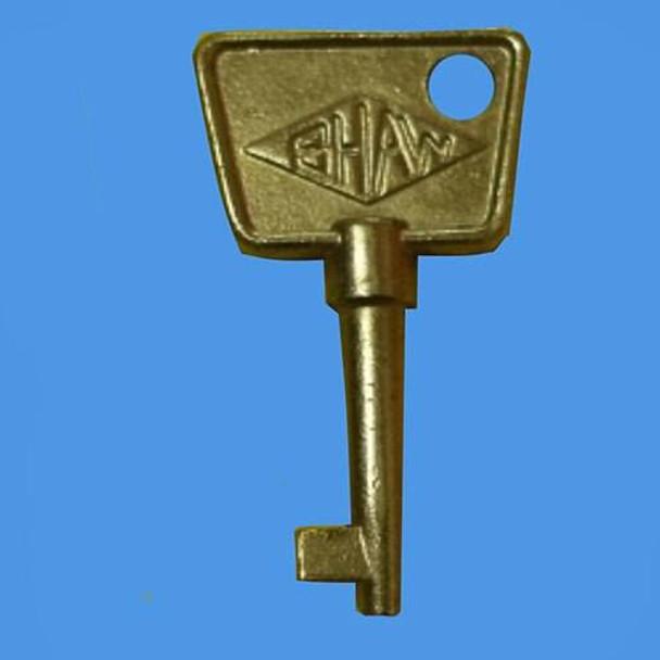 Shaw 824 Window Handle Key - EE35