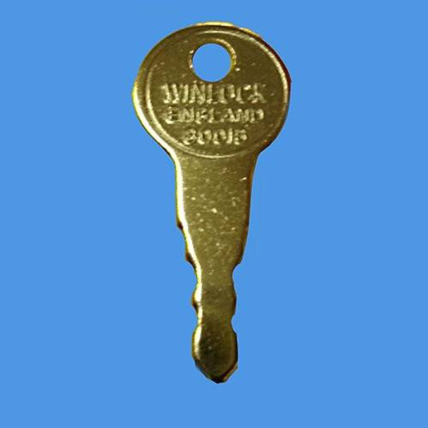 Winlock 80016 Window Handle Key - EE48