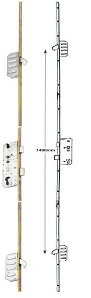 Winkhaus Cobra UPVC Door Lock, 2 Hook, Lift Lever or Split Spindle