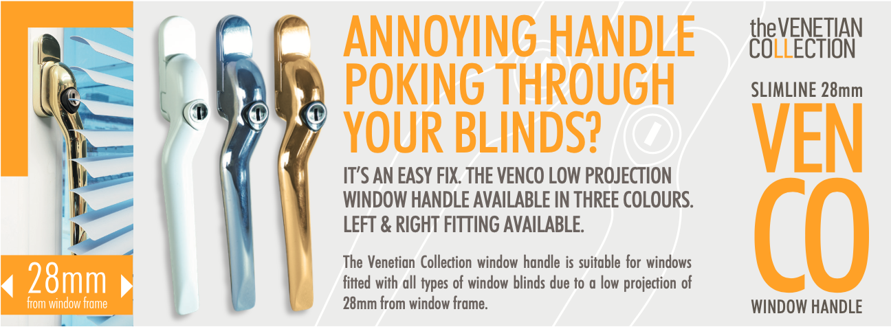 Handles to Fit Behind Venetian Blinds