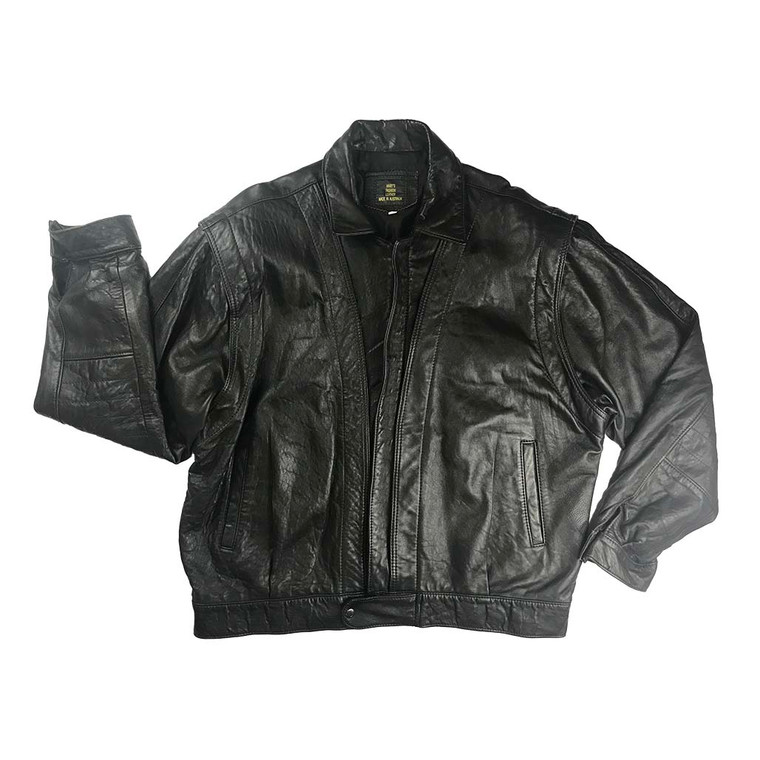 Vintages 80s Lambskin Leather Jacket
