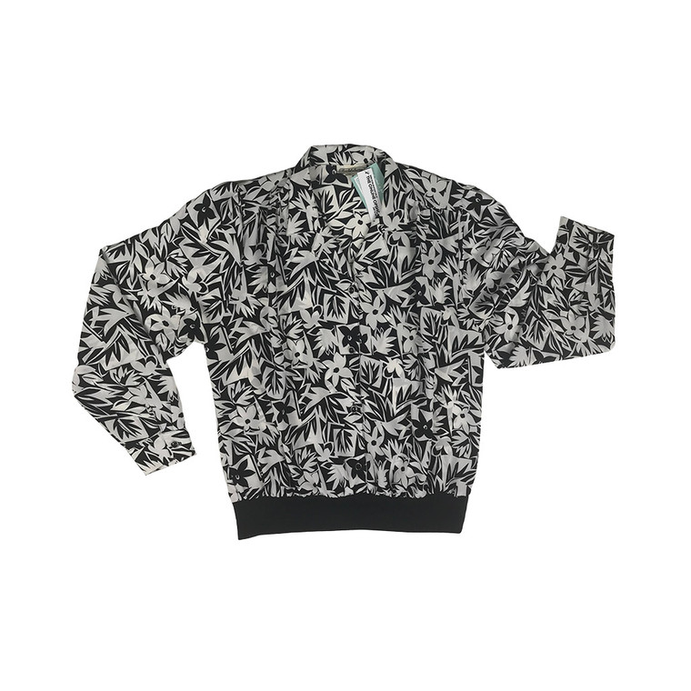 Vintage Long Sleeve Wide Elastic Hem Shirt