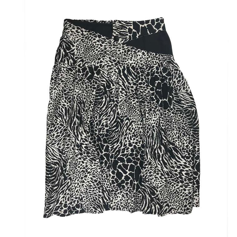 Vintage Flared Long Skirt