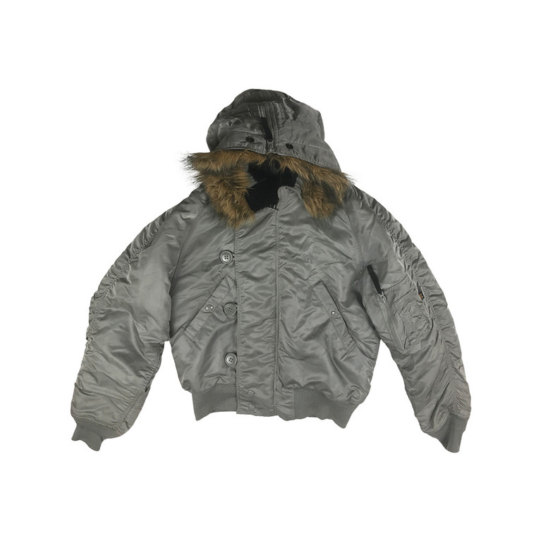 Hooded Bomber Flight Jacket