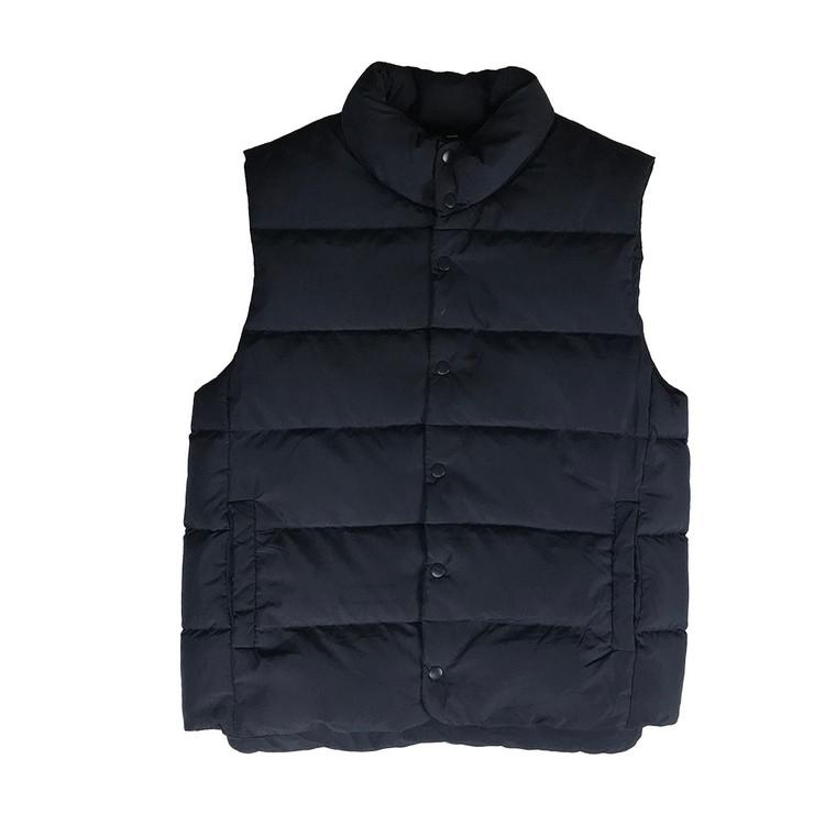 Press Stud Puffer Vest
