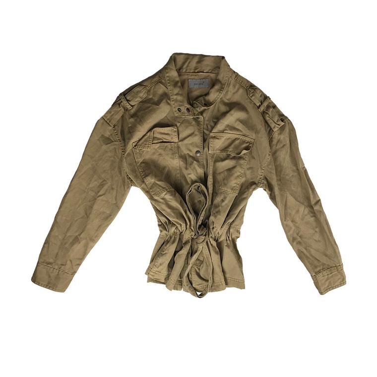 Tie Waist Utility Jacket