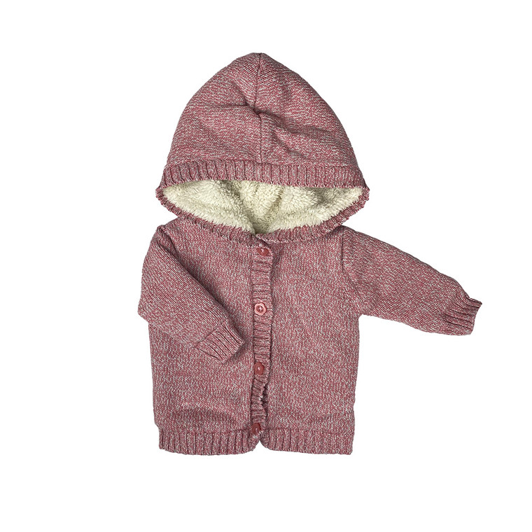 BABY Button Up Hooded Jacket