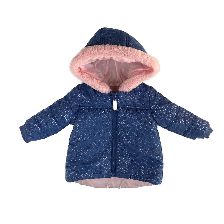GIRLS Faux Fur Hooded Jacket