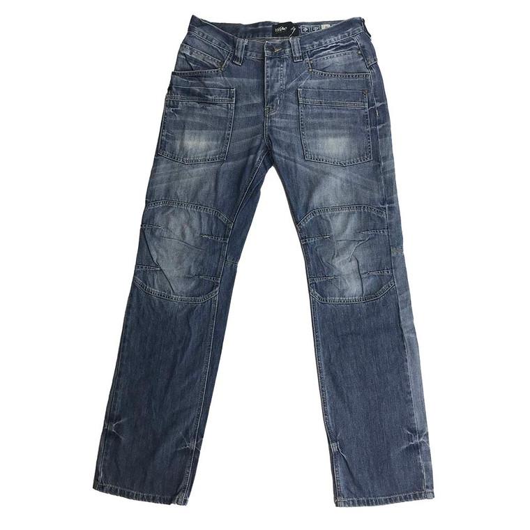 3D Knees Tapered Denim Jeans 32x32