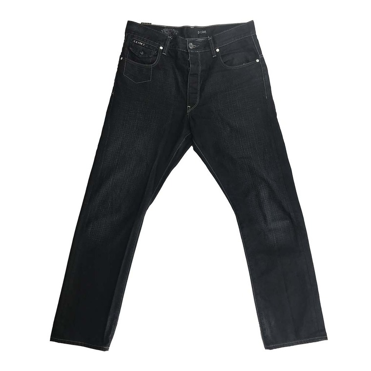 3301 Button Fly Regular Fit Denim Jeans 32x30