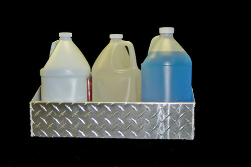 Owens Products RaceMates Storage Shelf / Gallon Size / Diamond Tread Aluminum / Owens Products  39203