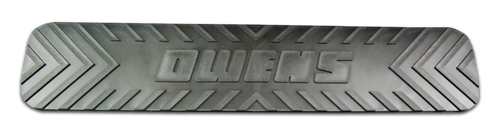 Owens Products Step Pad for Owens Running Boards / 4 x 20 Inches / Each / Molded TPO / Owens Products  48-026