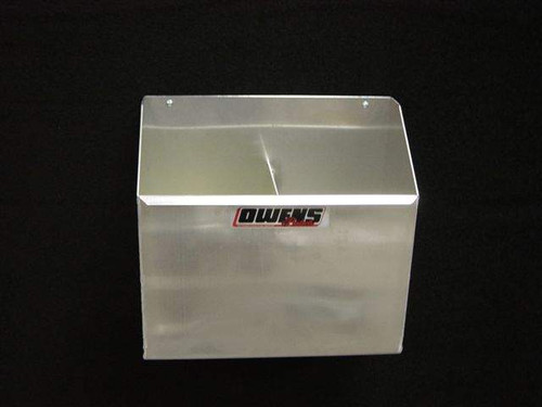 Owens Products RaceMates 2-Bay Nitrous Bottle Rack / Smooth Mill Finish Aluminum / Owens Products  39125