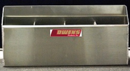 Owens Products RaceMates 4-Bay Fuel Jug Rack / Smooth Mill Finish Aluminum / Owens Products  39123