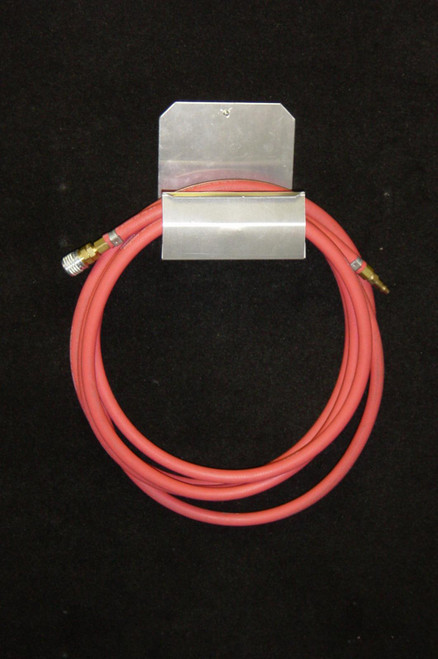 Owens Products RaceMates Air Hose Hanger / Smooth Mill Finish Aluminum / Owens Products  39111