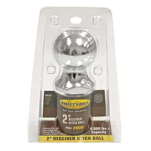 Smittybilt Receiver Ball 2 Inch 2900