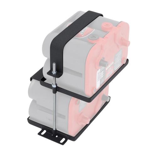 Smittybilt Dual Battery Tray 97-06 Wrangler TJ/LJ 2800