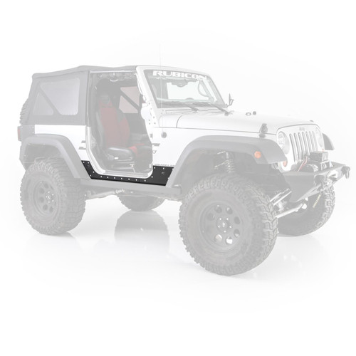 Smittybilt XRC Body Cladding 07-18 Wrangler JK 2DR Black Textured 76886