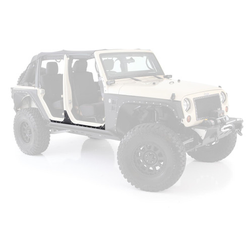 Smittybilt XRC Body Cladding 07-18 Wrangler JK 4DR Black Textured 76887