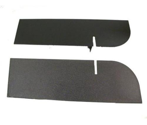 Smittybilt Frame Cover Rear 07-18 Wrangler JK Black Textured JB48CRT