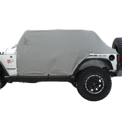 Smittybilt Cab Cover W/Door Flap 76-86 Jeep CJ7 Gray 1059
