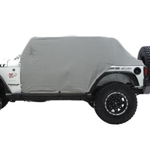 Smittybilt Cab Cover W/Door Flap 87-91 Wrangler YJ Gray 1060