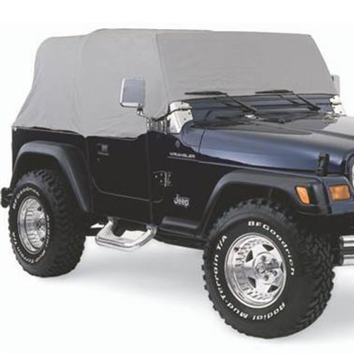Smittybilt Cab Cover W/O Door Flap 76-86 Jeep CJ7 Gray 1159