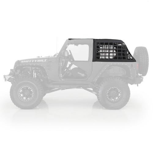 Smittybilt C-Res Cargo Restraint System 07-18 Wrangler JK 2 Door Black Diamond 571035