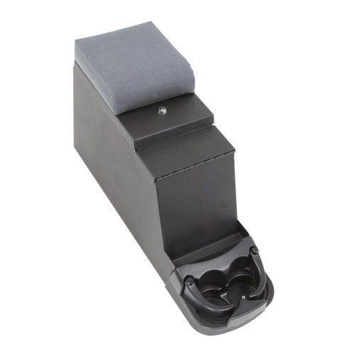 Smittybilt Security Stereo Floor Console 76-95 Wrangler CJ/YJ Denim Gray 31811