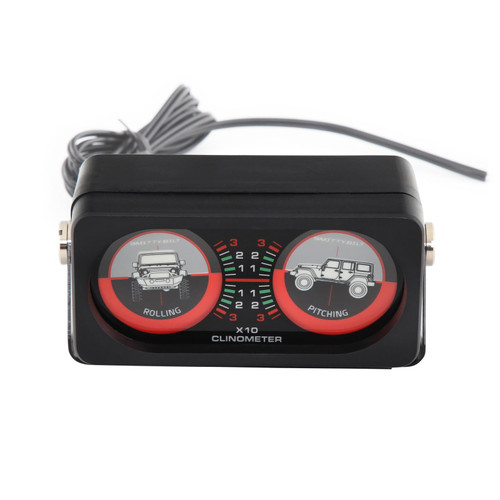 Smittybilt Clinometer I Jeep Graphic Illuminated 791005