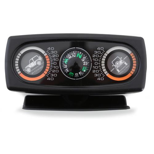Smittybilt Clinometer Ii Jeep Graphic W/ Compass Illuminated 791006