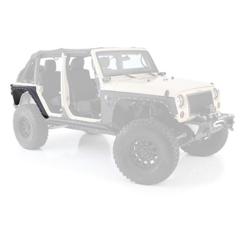 Smittybilt XRC Rear Corner Guards 07-18 Wrangler JK 4DR Black Textured 76882