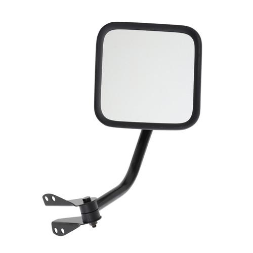 Smittybilt Side Mirrors 55-95 Wrangler YJ/CJ Black 7617