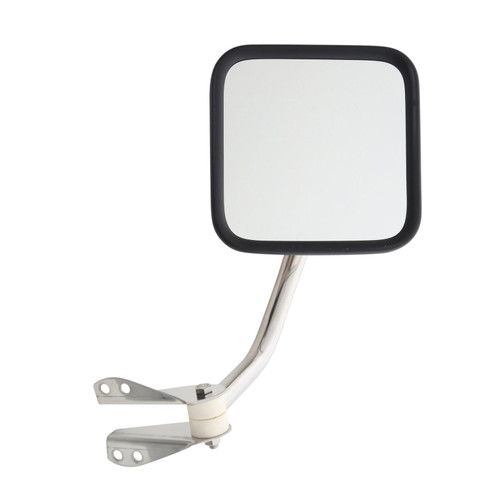 Smittybilt Side Mirrors 55-86 CJ5/CJ7 Stainless Steel 7417