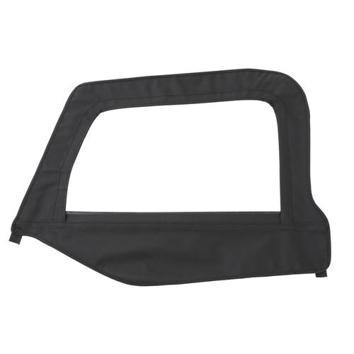 Smittybilt Soft Top Door Skin W/ Frame 97-06 Wrangler TJ Driver Side Denim Black 79415