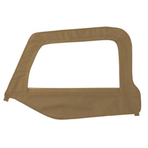 Smittybilt Soft Top Door Skin W/ Frame 97-06 Wrangler TJ Driver Side Denim Spice 79417