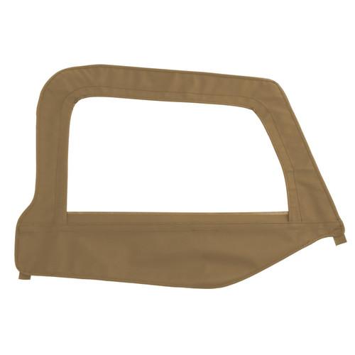Smittybilt Soft Top Door Skin W/ Frame 97-06 Wrangler TJ Passenger Side Denim Spice 79517