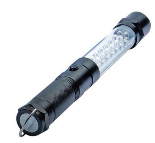 Smittybilt Flashlight GB8 8 Inch Led 3 In 1 Light Black L-1407BK
