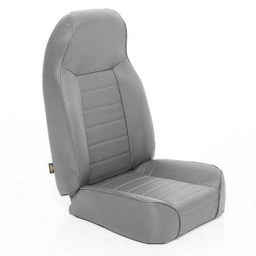 Smittybilt Front Seat Standard Bucket 76-14 Wrangler CJ/YJ/TJ/LJ/JK Denim Gray 44911