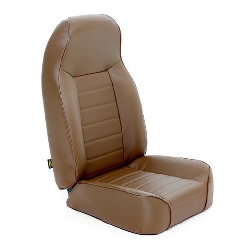Smittybilt Front Seat Standard Bucket 76-14 Wrangler CJ/YJ/TJ/LJ/JK Denim Spice 44917