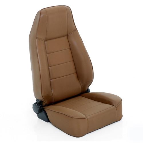 Smittybilt Front Seat Factory Style Replacement W/ Recliner 76-16 Wrangler CJ/YJ/TJ/LJ/JK Denim spice 45017
