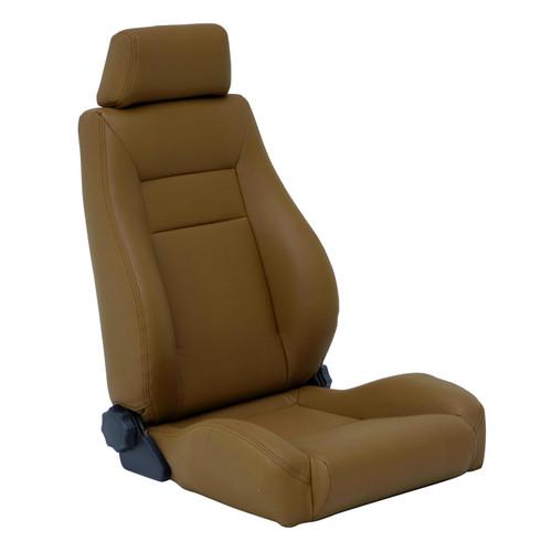 Smittybilt Front Seat Contour Sport Bucket W/ Recliner 76-16 Wrangler CJ/YJ/TJ/LJ/JK Spice Denim 49517