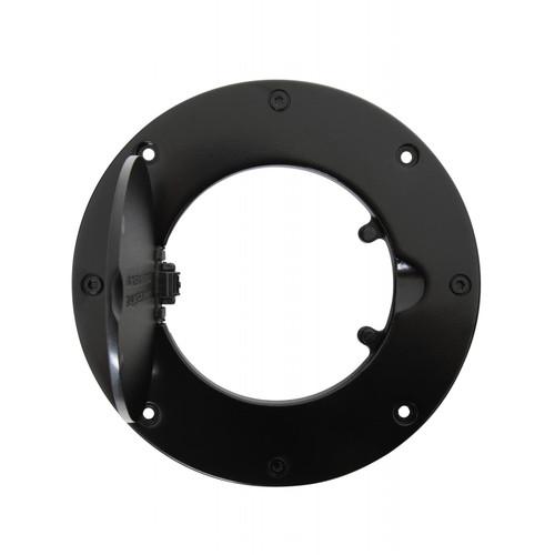 Smittybilt Gas Cover Billet Style 97-06 Wrangler TJ/LJ Gloss Black 75006