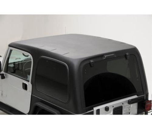 Smittybilt Hard Top 2 Piece W/O Upper Doors 07-18 Wrangler JK 2 DR Textured Black 517701